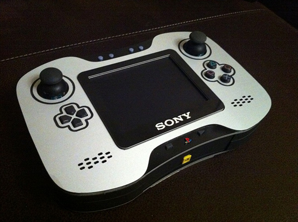 handheld ps2 by techknott