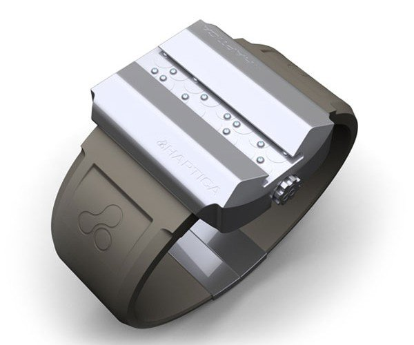 Haptica Braille Watch Tells Time for the Visually Impaired