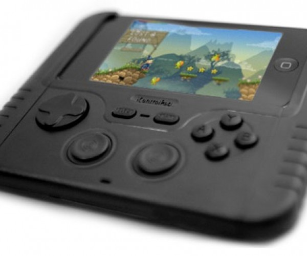 iControlPad BT Adds Real Gamepad and Buttons to the iPhone