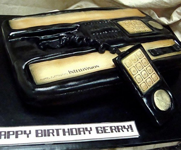 Intellivision Cake Has Way Better Graphics Than Atari Cake