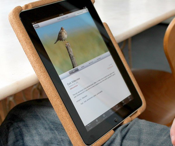 Kork Case for iPad Protects your Tablet and the Environment