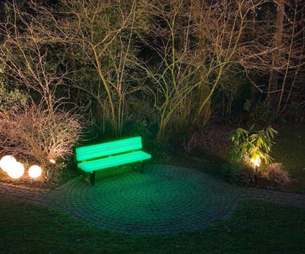 LED Bench: For Raves in the Park