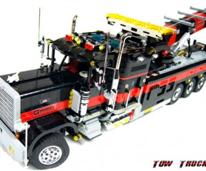 LEGO Tow Truck: The Big Brick Rig
