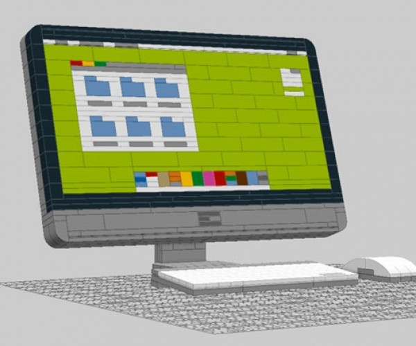 LEGO iMac May Send LEGO-Loving Apple Fans to Their Graves