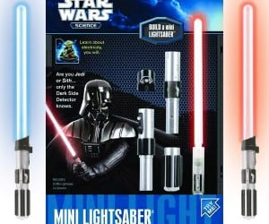 Lightsaber Detects Which Side of The Force You Belong On