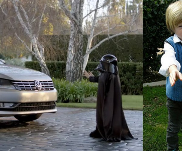 Little Vader from Super Bowl VW Commercial Unmasked