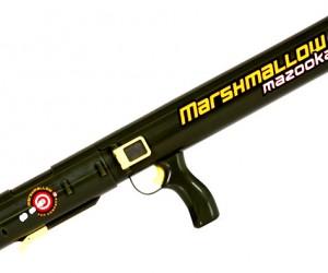 Mazooka Fires Tasty Marshmallow Bullets