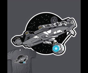 The Millenterprise Falcon Makes the Kessel Run Faster Than Any Man Has Gone Before