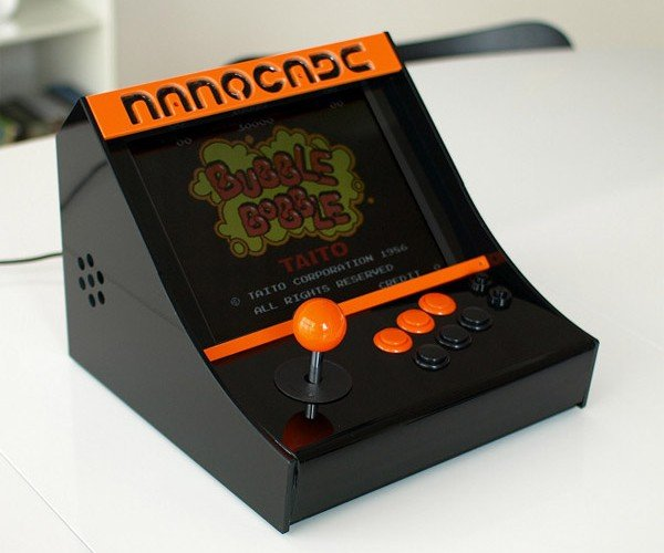 Nanocade Turns Your Spare Netbook into Arcade Cabinet