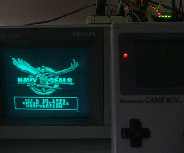 Game Boy + Oscilloscope = NintendOscope