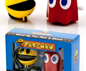 Pac-Man Wind-Up Toys Scurry Across Desks