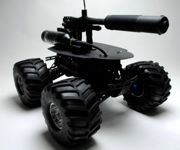Paintball Robot Brings the Pain to the Paintball Arena