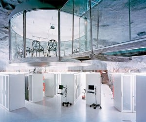 Pionen Data Center: Where Bond Villains Would Store Their Data