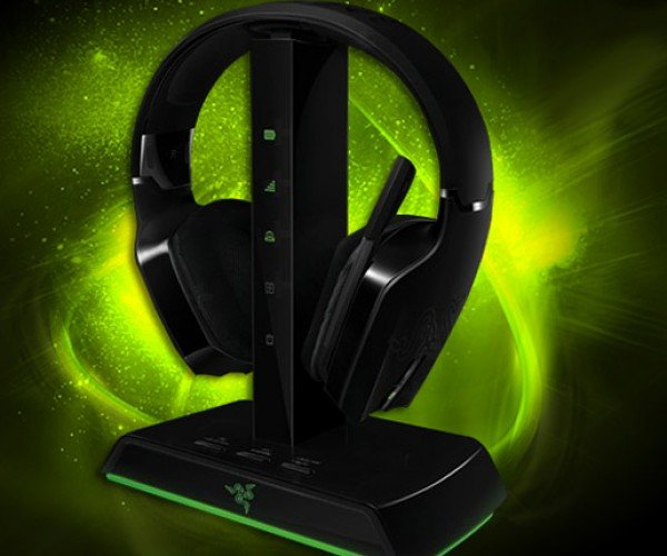 Razer Chimaera Wireless Gaming Headphones Support Xbox 360 and PC