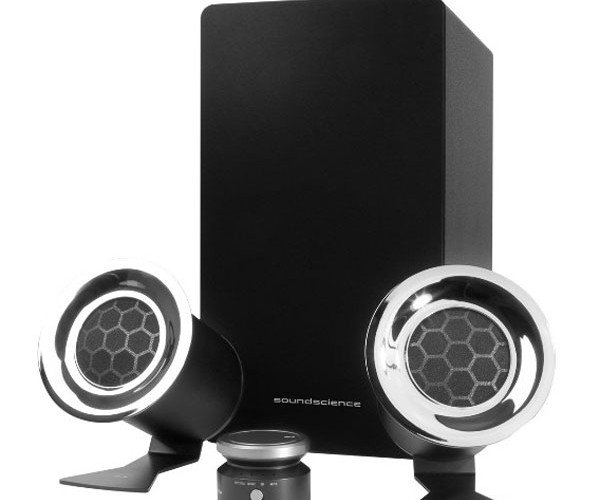 Antec Rockus Speakers Use DSP to Rock You Like a Hurricane