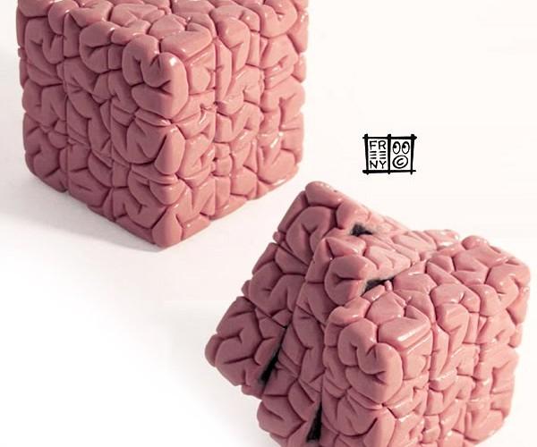 Rubik's Brain Cube is Abby Normal