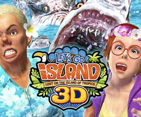 Let's Go Island 3D: Arcade Game Gets Glasses-Free 3D Screen