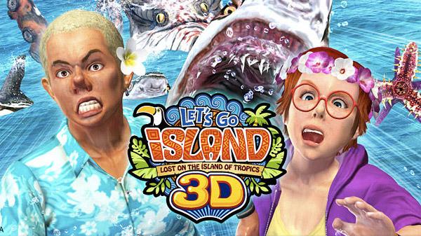 sega lets go island 3d