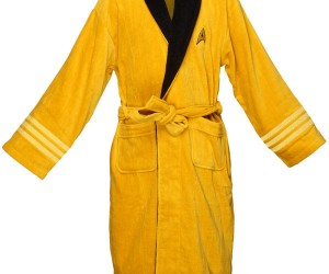 Star Trek Bathrobes: Don't Beam Me Up, I'm in the Tub!