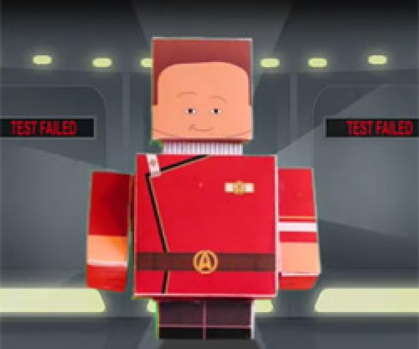 Star Trek II: The Wrath of Khan in 60 Seconds As Told By Paper Cube Dudes