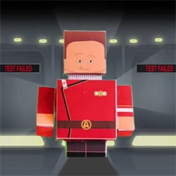 star trek ii papercraft