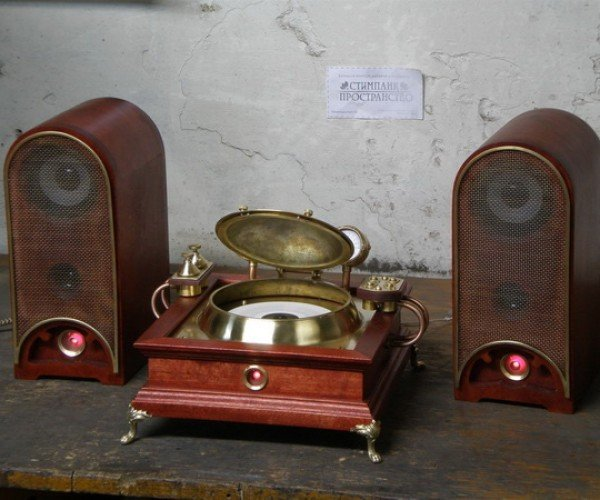 steampunk CD player 2