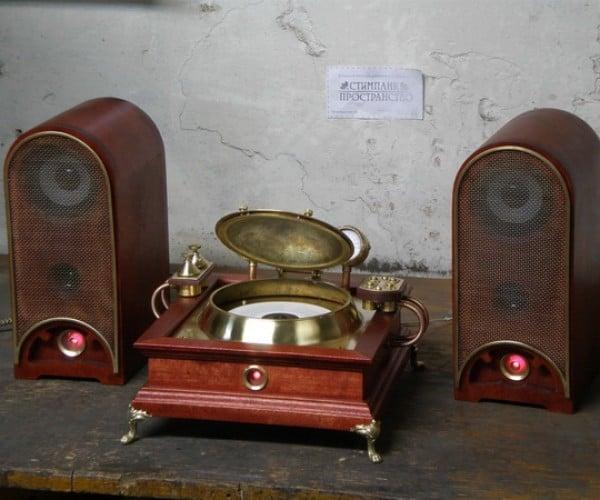 steampunk CD player 2