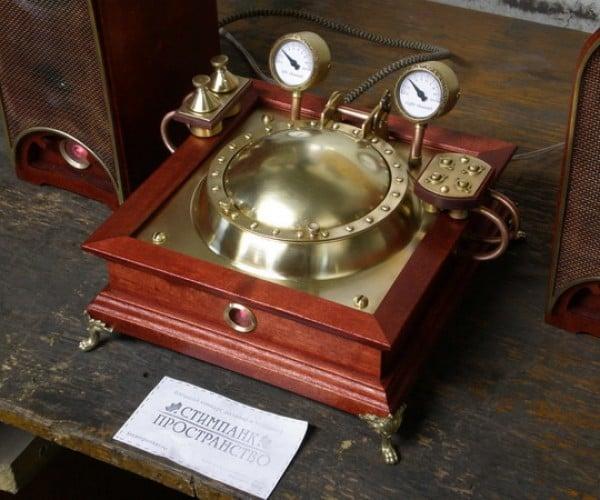 steampunk CD player 5