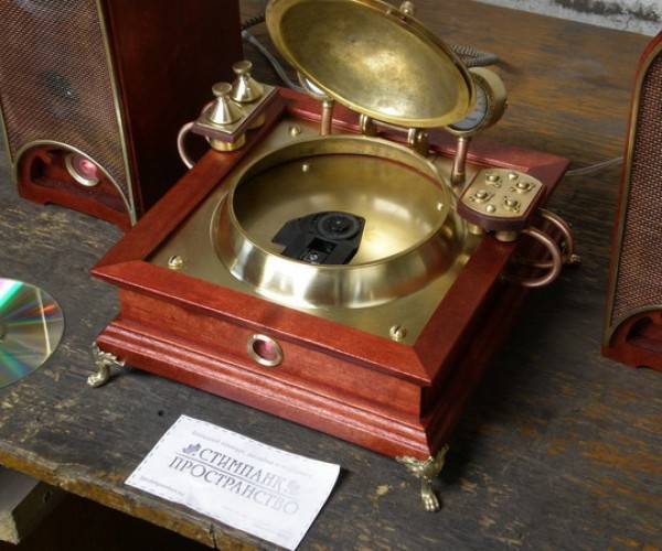 steampunk CD player 6