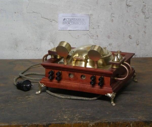 steampunk CD player 8