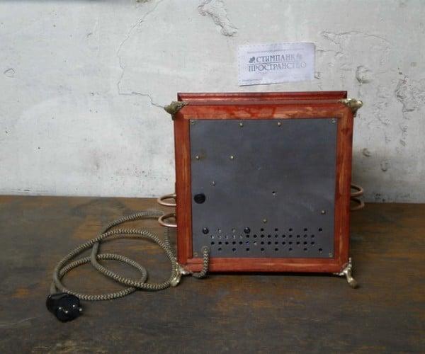 steampunk CD player 9