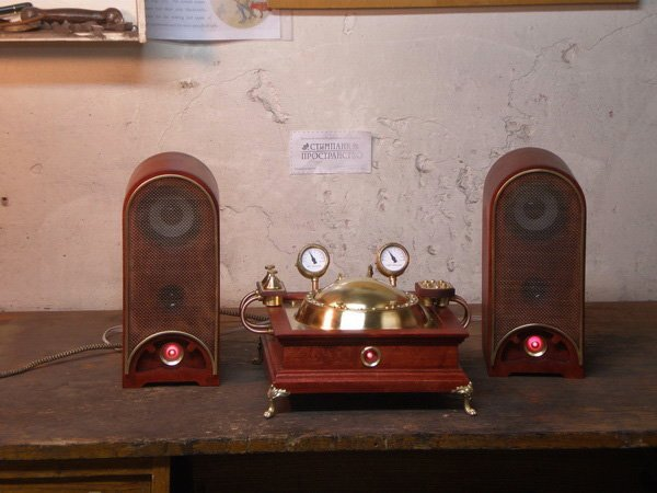 steampunk CD player