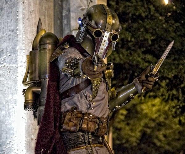 steampunk boba fett cosplay 2