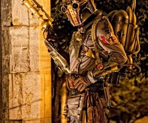 Steampunk Boba Fett Cosplay: So This is Where He Spends His Bounties