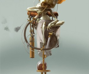 steampunk yoda by bjorn hurri 300x250