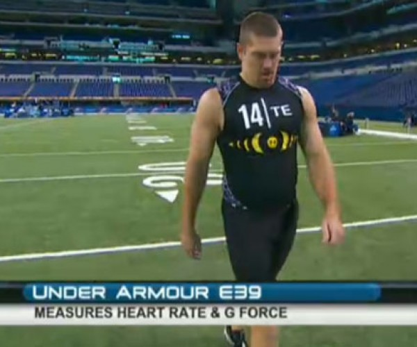 NFL Uses Under Armour E39 High-Tech Shirts for Scouting Combine