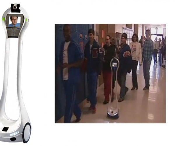 Texas High School Freshman Sends Robot to School in His Place
