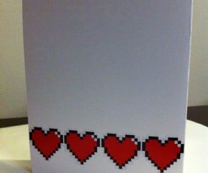 video game themed valentine cards by PaperRockScisorz 13