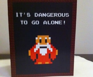 video game themed valentine cards by PaperRockScisorz 2