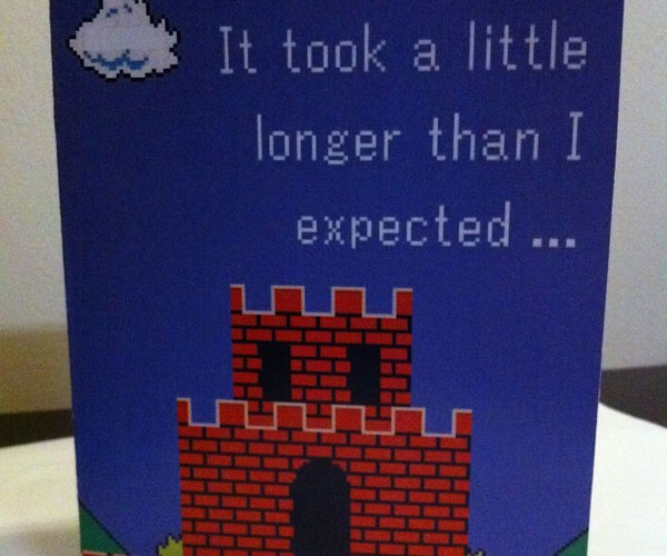 video game themed valentine cards by PaperRockScisorz 5