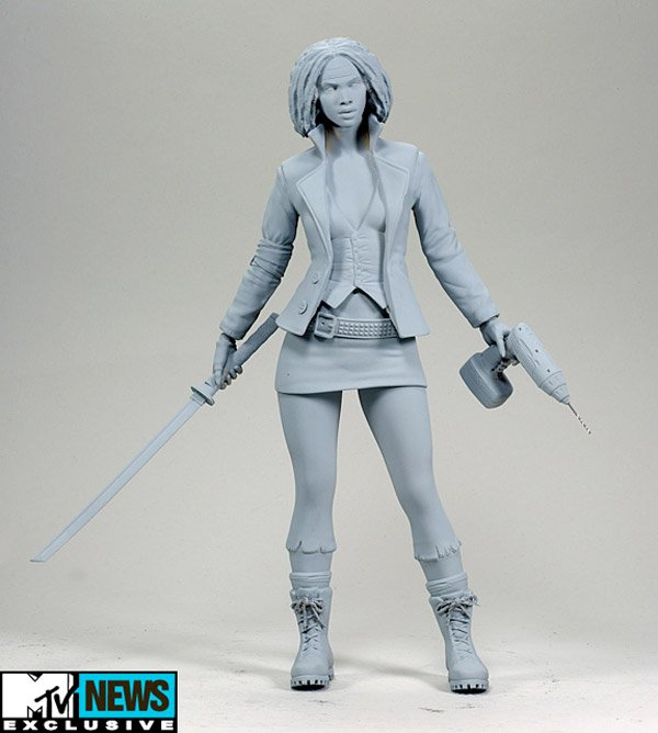 walking dead michonne action figure