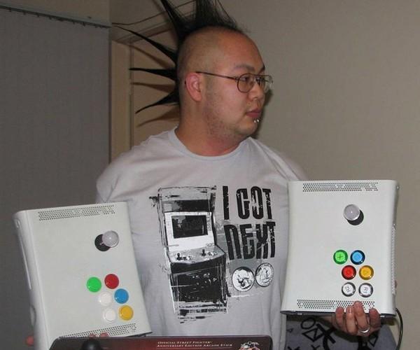 A Pair of Xbox 360 Joysticks, Literally.