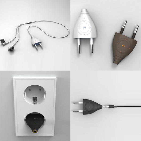 giha woo plug and player mp3 concept design audio