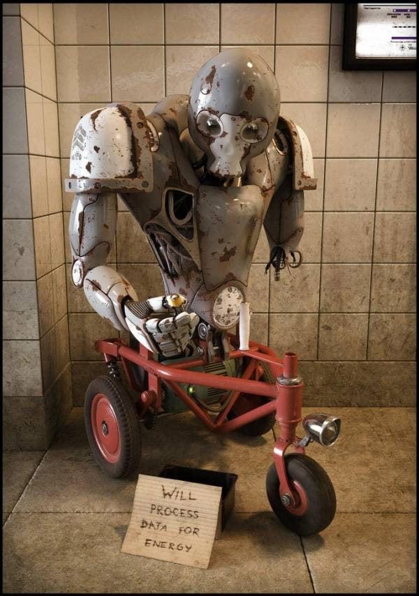 obsolete pawel hynek digital image render robot