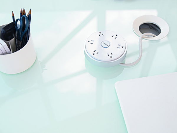 coalesse power strip pod circular design