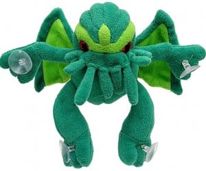 Cthulhu Suction Cup Plush: Way Cuter than Garfield