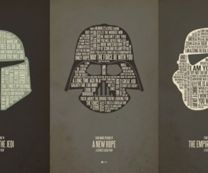 Star Wars Typography Quotes Classic Lines