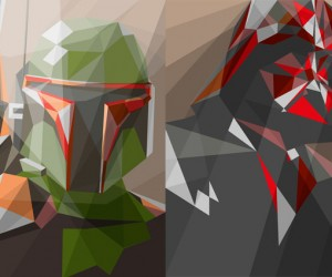 Polygonal Star Wars: Force Geometry