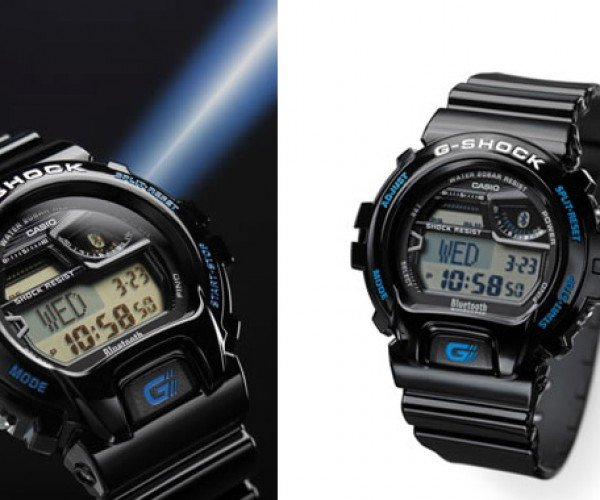 New Casio G-SHOCK Always Tells the Same Time as Your Phone
