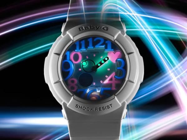 casio g-shock baby-g watch timepiece